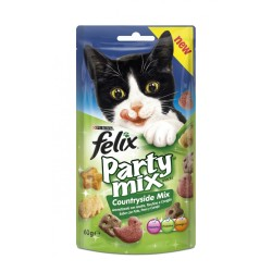FELIX PARTY MIX COUNTRY ANATRA,TACCH.,CONIGLIO 60G