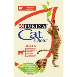PURINA CAT CHOW ADULT GR.85 MANZO